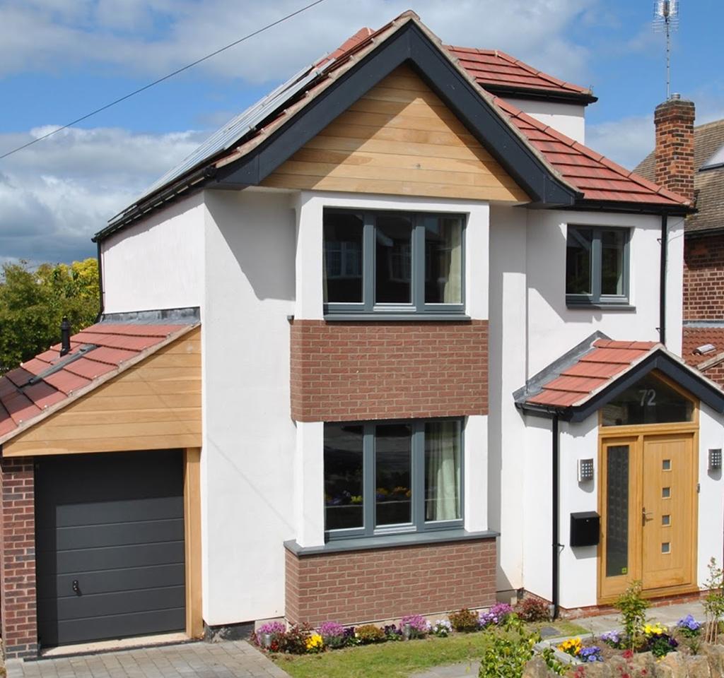 External House Insulation : External wall insulation systems render cladding